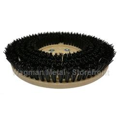 "14"" Mondo Poly Rotary Brush, HD Poly no grit"