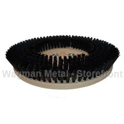 "14"" Black Nylon Rotary Brush"